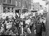 1985 -Teachers Demonstrate at Dawson St, Dublin