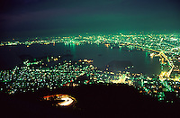 The night view over the city of Hakodate is one of Japan's most famous sights.