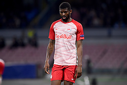 March 7, 2019 - Naples, Naples, Italy - Jerome Onguene of RB Salzburg during the UEFA Europa League match between SSC Napoli and RB Salzburg at Stadio San Paolo Naples Italy on 7 March 2019. (Credit Image: © Franco Romano/NurPhoto via ZUMA Press)