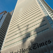 New York Times building. New York city, USA.