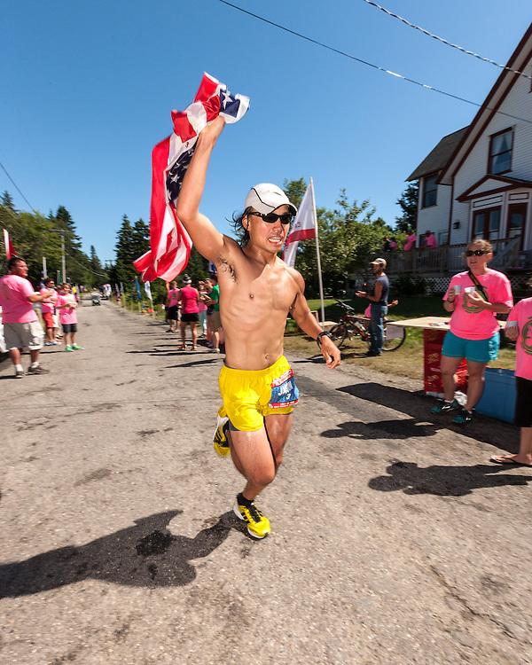 Great Cranberry Island Ultra 50K road race: Jason Bui