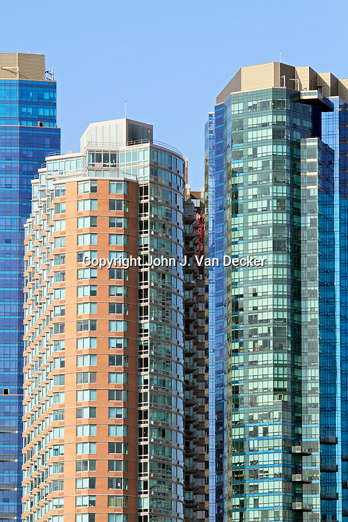 Jersey City, New Jersey high rises