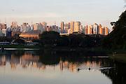 Sao Paulo_SP, Brasil...Pato no lago do Parque do Ibirapuera...A duck in a lake of Ibirapuera Park...Foto: MARCUS DESIMONI / NITRO