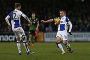 Bristol Rovers Billy Bodin (10) on the ball during the EFL Sky Bet League 1 match between Bristol Rovers and Doncaster Rovers at the Memorial Stadium, Bristol, England on 23 December 2017. Photo by Gary Learmonth.