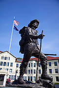 Prospector Statue, Pioneer Home, Sitka, Southeast, Alaska
