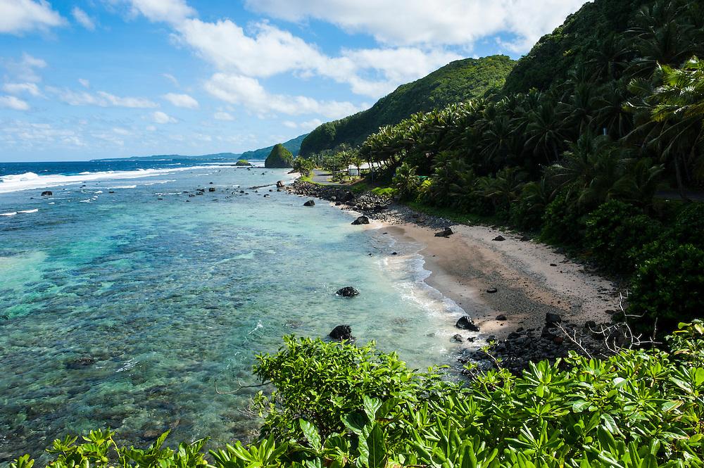 East Coast of Tutuila island, American Samoa, South Pacific