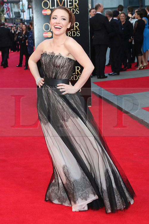 © Licensed to London News Pictures. 13/04/2014, UK. Daisy Lewis, The Laurence Olivier Awards, Royal Opera House, London UK, 13 April 2014. Photo credit : Richard Goldschmidt/Piqtured/LNP