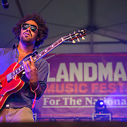 WASHINGTON, DC - September 26th, 2015 - The London Souls performs at the 2015 Landmark Festival in Washington, D.C.  (Photo by Kyle Gustafson / For The Washington Post)