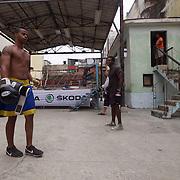 Young Cuban boxers training at the Rafael Trejo Boxing Gym In Havana, Cuba