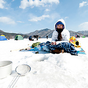 Ice Fishing in South Korea
