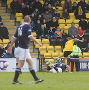 Mark McNulty equalises for Livingston - Livingston v Dundee, IRN BRU Scottish Football League, First Division - ..© David Young - .5 Foundry Place - .Monifieth - .Angus - .DD5 4BB - .Tel: 07765 252616 - .email: davidyoungphoto@gmail.com.web: www.davidyoungphoto.co.uk