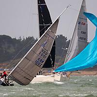 Foiling, Catamarans, Teams, UK, China,Australia,America,Japan, France, series, G P Yacht Racing. Cowes, isle of Wight, England, UK,