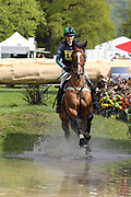 Polly Stockton on MisterMaCcondy during the International Horse Trials at Chatsworth, Bakewell, United Kingdom on 13 May 2018. Picture by George Franks.