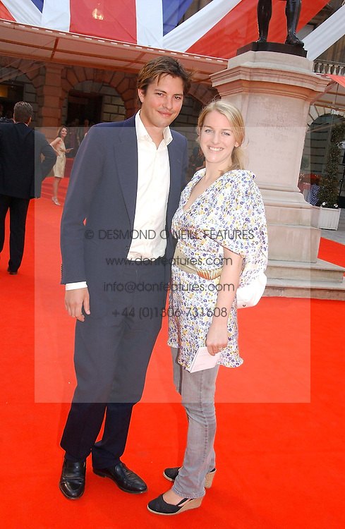 HARRY & LAURA LOPES she is the daughter of HRH The Duchess of Cornwall at the Royal Academy of Art's SUmmer Party following the official opening of the Summer Exhibition held at the Royal Academy of Art, Burlington House, Piccadilly, London W1 on 7th June 2006.<br />