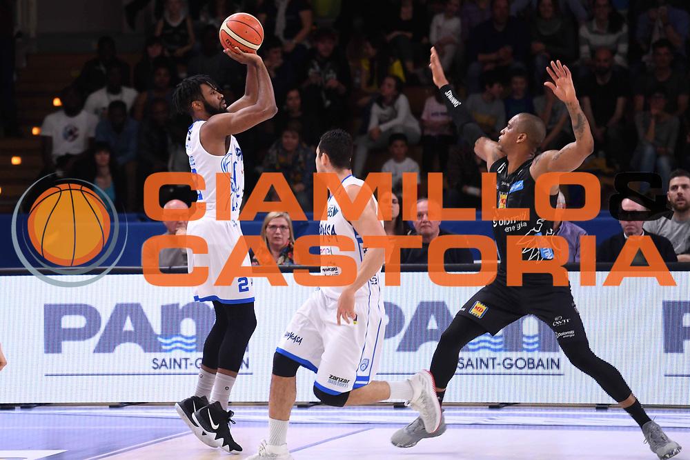Scott Suggs<br /> Dolomiti Energia Aquila Basket Trento - Happy Casa New Basket Brindisi<br /> LegaBasket Serie A 2017/2018<br /> Trento, 08/04/2018<br /> Foto M.Ceretti / Ciamillo - Castoria