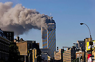 Terrorist attacks launched upon the United States in New York City on Tuesday, September 11, 2001. (photo ©José Jiménez Tirado/Editorial Primera Hora 2001)