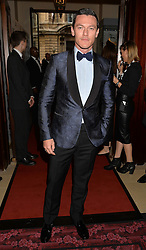 LUKE EVANS at the GQ Men Of The Year 2014 Awards in association with Hugo Boss held at The Royal Opera House, London on 2nd September 2014.