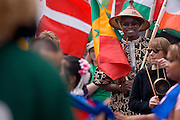 18897The International Street Fair  May 17th, 2008... Matthew Urminski, Christina Gibbons, Seydina Sene