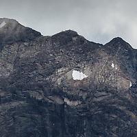 2 climbers on Austabontind, Jotunheimen National Park.
