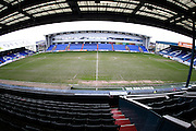 Empty stadium before the Sky Bet League 1 match between Oldham Athletic and Chesterfield at Boundary Park, Oldham, England on 28 March 2016. Photo by Simon Brady.