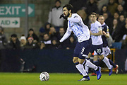 Everton midfielder Andre Gomes (8) during the The FA Cup fourth round match between Millwall and Everton at The Den, London, England on 26 January 2019.