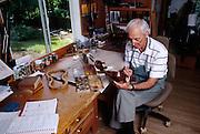 Violin repair expert
