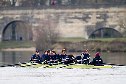 Oxford University Blue Boat 2010 during training at Wallingford. Bow Ben Myers (Exeter College - GB) 2 Martin Walsh (Green Templeton - Ire) 3 Tyler Winklevoss (Christ Ch - USA) 4 Cameron Winklevoss (Christ Ch - USA) 5 Sjoerd Hamburger (Oriel - Ned) 6 Matt Evans (University - Can/GB) 7 Simon Gawlik (Kellogg - Ger) Stroke Charlie Burkitt (Wolfson - GB) Cox Adam Barhamand (Wolfson - USA) .