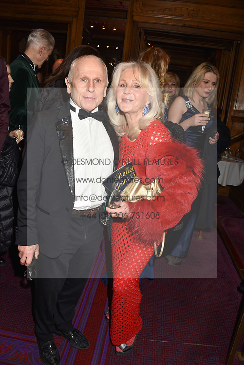 26 January 2020 - Liz Brewer and Wayne Sleep at the Ballet Icons Gala at the London Coliseum, St.Martin's Lane, London.<br /> <br /> Photo by Dominic O'Neill/Desmond O'Neill Features Ltd.  +44(0)1306 731608  www.donfeatures.com