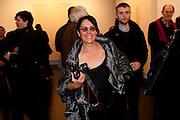 MERA RUBEL, 'Engagement' exhibition of work by Jennifer Rubell. Stephen Friedman Gallery. London. 7 February 2011. -DO NOT ARCHIVE-© Copyright Photograph by Dafydd Jones. 248 Clapham Rd. London SW9 0PZ. Tel 0207 820 0771. www.dafjones.com.