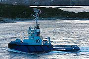 The Tug Audax, owned by Østensjø Rederi | Slepebåten Audax, eiet av Østensjø Rederi.