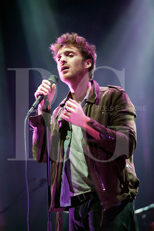 Paulo Nutini performs at the bandstand in Edinburgh's Princess Street Gardens as part of Edinburgh's Hogmanay celebrations on Dec 31st, 2016 in Edinburgh, Scotland. (Photo by Ross Gilmore)