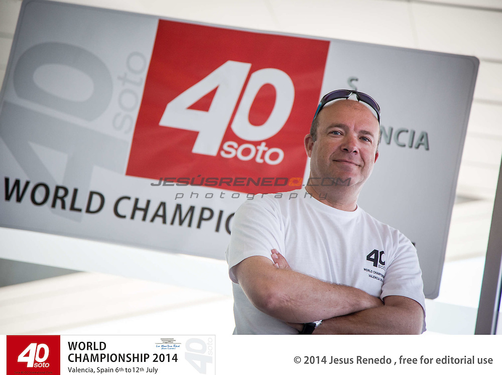 Andres Perez, president of the jury. SOTO 40 WORLD CHAMPIONSHIP 2014,Valencia, S