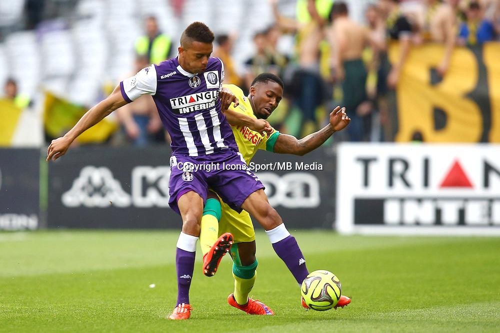 William Matheus / Serge Gakpe - 25.04.2015 - Toulouse / Nantes - 34eme journee de Ligue 1<br />Photo : Manuel Blondeau / Icon Sport