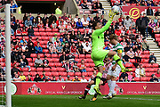 Celtic Keeper Dorus De Vries had little to do in the second half of the Pre-Season Friendly match between Sunderland and Celtic at the Stadium Of Light, Sunderland, England on 29 July 2017. Photo by Kevin Murray.
