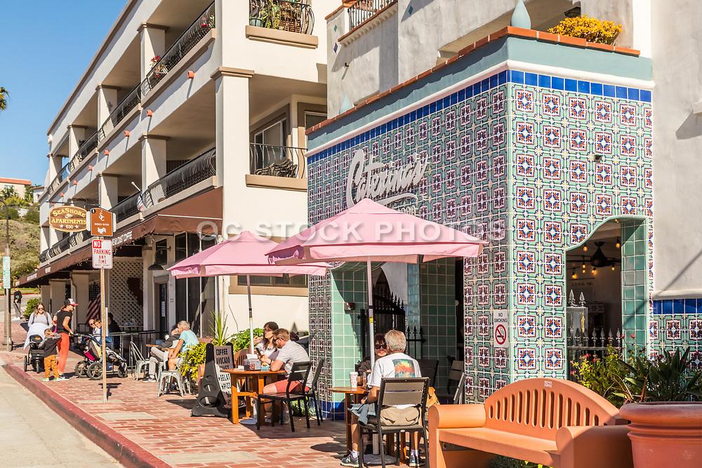 San Clemente's Pier Bowl Restaurants shops and lodging