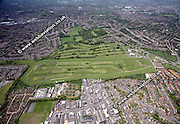 aerial photograph of Leicester Racecourse Leicestershire  England UK