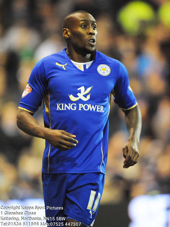 Lloyd Dyer Leicester City, Nottingham Forest v Leicester City, City Ground Nottingham,  Sky Bet Championship, 19th Febuary 2014