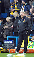 Steve Bruce manager of Hull City during the Sky Bet Championship match at Elland Road, Leeds<br /> Picture by Graham Crowther/Focus Images Ltd +44 7763 140036<br /> 05/12/2015