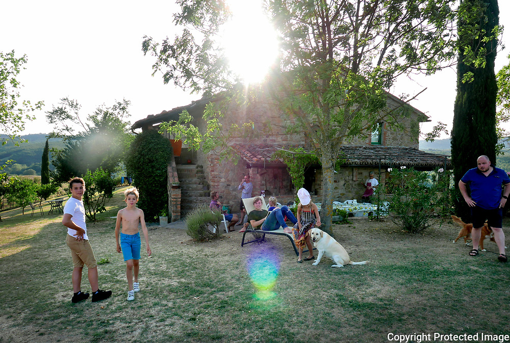August 20, 2017 - 18:37<br /> Italy, San Venanzo - Polmone