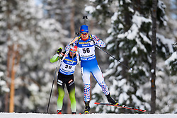 March 9, 2019 - –Stersund, Sweden - 190309 Xingyuan Yan of China competes in the Men's 10 KM sprint during the IBU World Championships Biathlon on March 9, 2019 in Östersund..Photo: Petter Arvidson / BILDBYRÃ…N / kod PA / 92252 (Credit Image: © Petter Arvidson/Bildbyran via ZUMA Press)