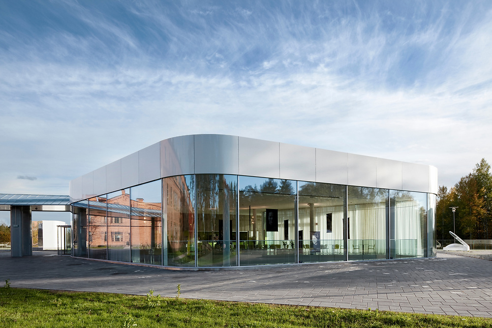 Kymenlaakson ammattikorkeakoulu - University of Applied Sciences in Kouvola, Finland designed by NRT architects.