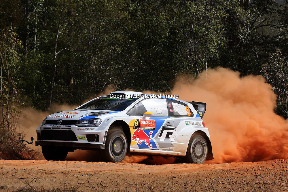 Rally Australia - Round 10 of the FIA World Rally Championship, Day 1, 12 September 2014. Photo: Alan McDonald/www.photosport.co.nz