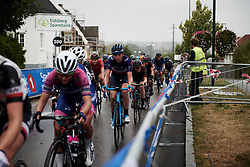 Aude Biannic (FRA) with three laps to go at Ladies Tour of Norway 2018 Stage 2, a 127.7 km road race from Fredrikstad to Sarpsborg, Norway on August 18, 2018. Photo by Sean Robinson/velofocus.com