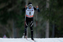 13.12.2014, Davos, SUI, FIS Langlauf Weltcup, Davos, 15 km, Herren, im Bild Jonas Baumann (SUI) // during Cross Country, 15km, men at FIS Nordic world cup in Davos, Switzerland on 2014/12/13. EXPA Pictures &copy; 2014, PhotoCredit: EXPA/ Freshfocus/ Christian Pfander<br /> <br /> *****ATTENTION - for AUT, SLO, CRO, SRB, BIH, MAZ only*****