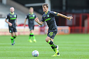 Forest Green Rovers James Morton(15) runs forward during the EFL Sky Bet League 2 match between Walsall and Forest Green Rovers at the Banks's Stadium, Walsall, England on 10 August 2019.