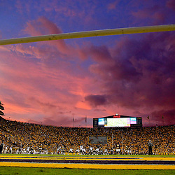 Sep 17, 2016; Baton Rouge, LA, USA;  A general view at sunset of a game between the LSU Tigers and the Mississippi State Bulldogs during the second quarter of a game at Tiger Stadium. Mandatory Credit: Derick E. Hingle-USA TODAY Sports