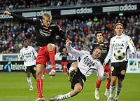 Fotball tippeligaen 12.04.08 Rosenborg ( RBK ) - Fredikstad,<br /> Gardar Johansson, Vadim Demidov og Kris Stadsgaard,<br /> Foto: Carl-Erik Eriksson, Digitalsport