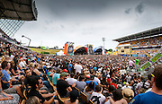 The 2011 Big Day Out at Mount Smart Stadium.<br />