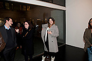 DANIELA SANCHEZ, 'Engagement' exhibition of work by Jennifer Rubell. Stephen Friedman Gallery. London. 7 February 2011. -DO NOT ARCHIVE-© Copyright Photograph by Dafydd Jones. 248 Clapham Rd. London SW9 0PZ. Tel 0207 820 0771. www.dafjones.com.