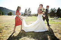 Melinda and Will Smith's wedding held Saturday, Aug. 20, 2011 at Farragut State Park in Idaho.